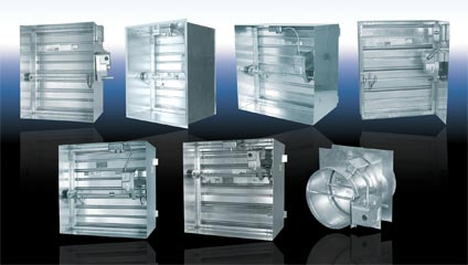 Combination Louver Dampers – Buy Architectural Louvers Wholesale
