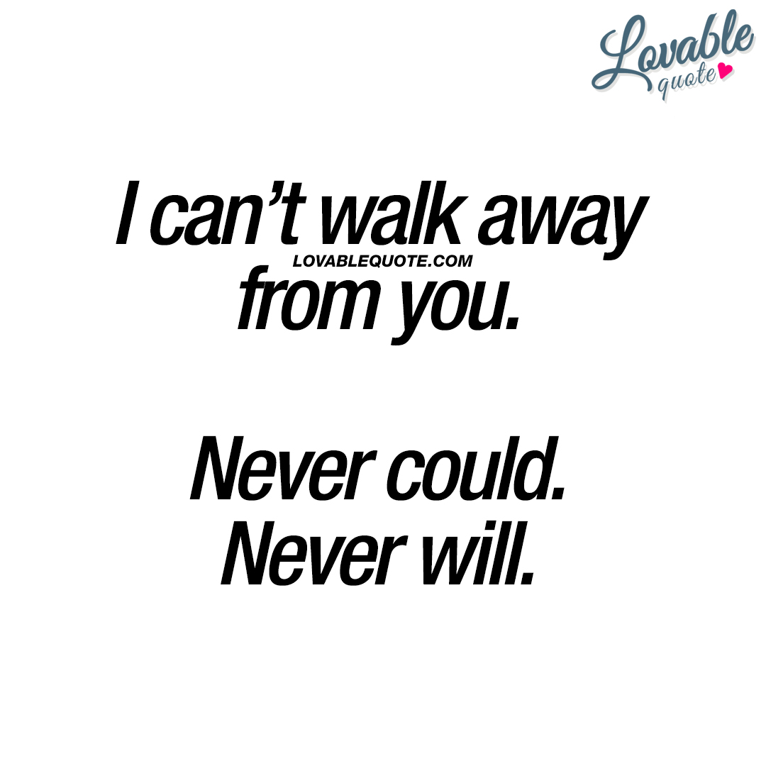 If I Walk Away