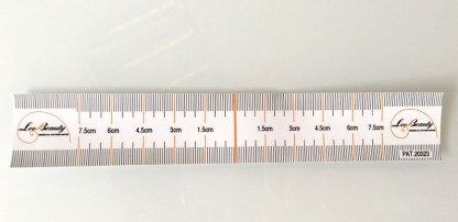 Disposable Eyebrow Design Ruler