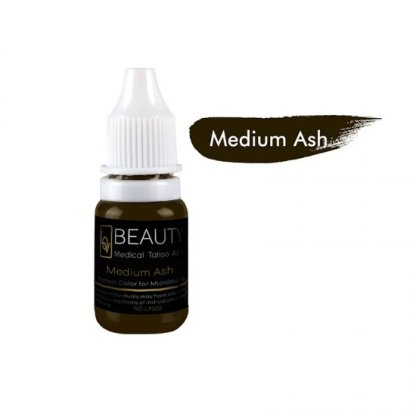 Medical Grade micro cream pigment for eyebrow Medium Ash
