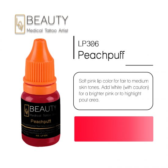 Microblading pigment for permanent makeup Peachpuff