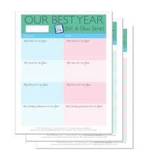 Your Best Year Ever! (Couple's Version)