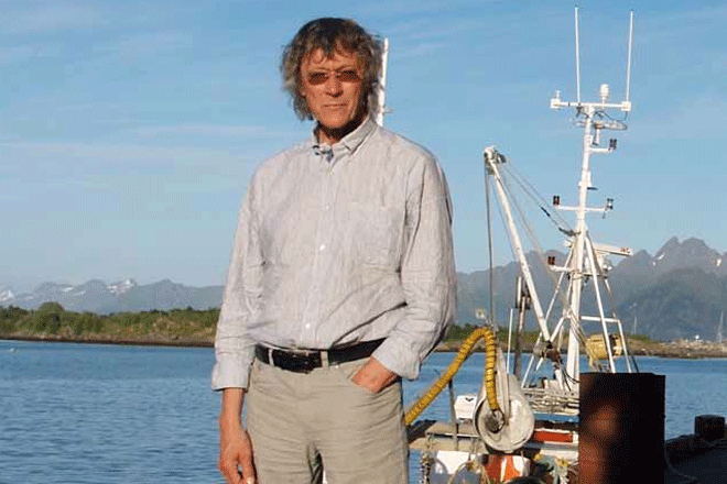 Knut Erik Jensen på Melbu.