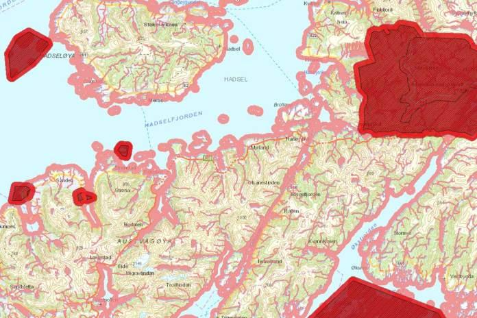 vannscooter kart raftsundet trollfjorden