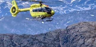 Norsk Luftambulanse helikopter