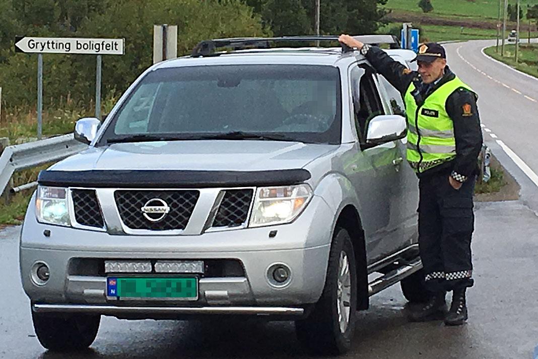 politi kontroll promillekjøring