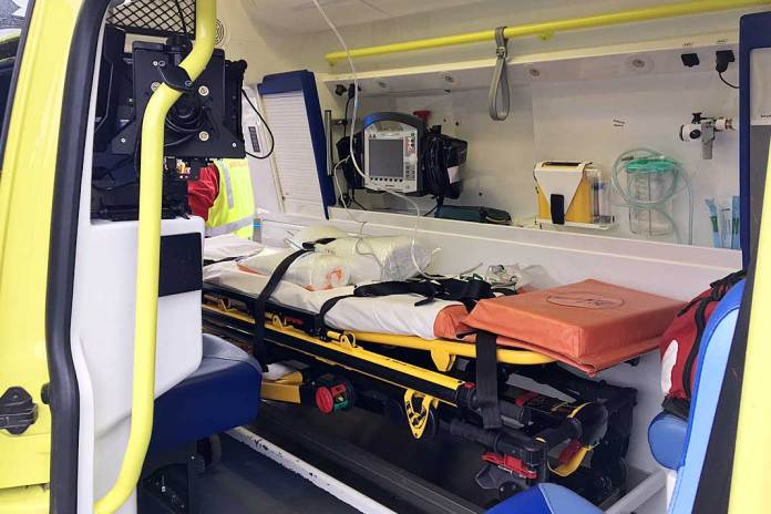 sykehus ambulanse utrykning