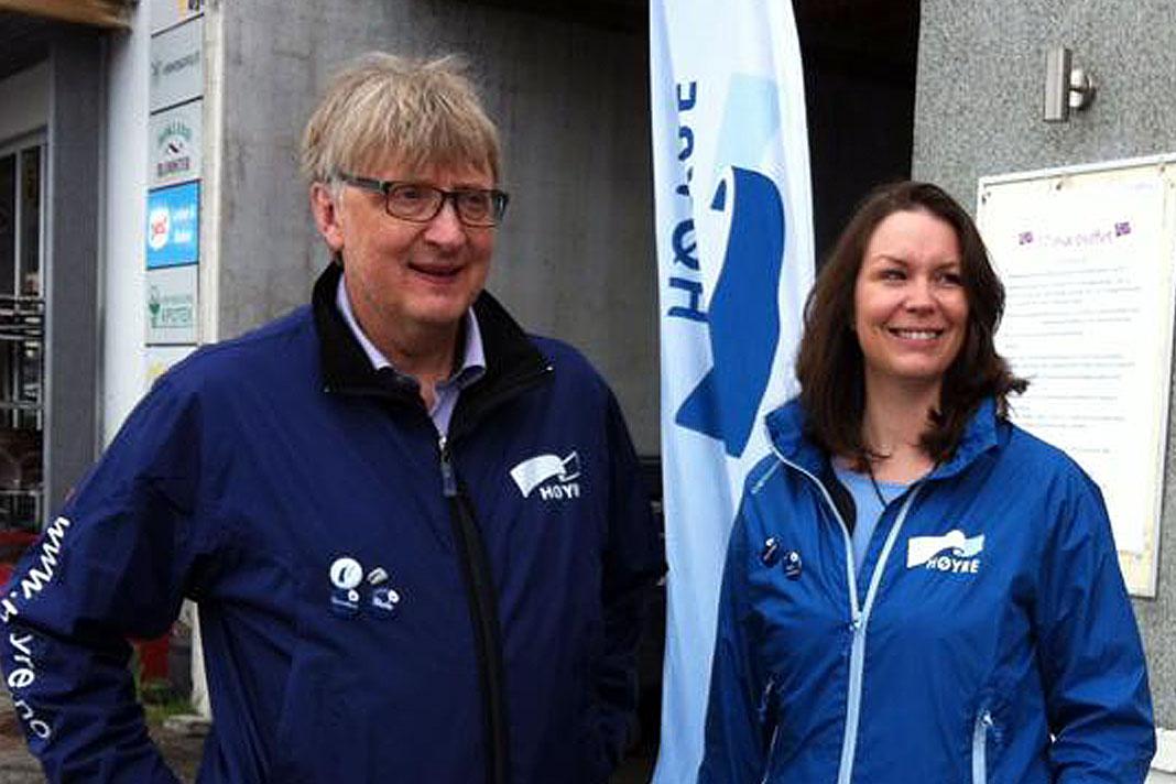 Ivar Fredriksen Lina Buvik Vibe hadsel høyre