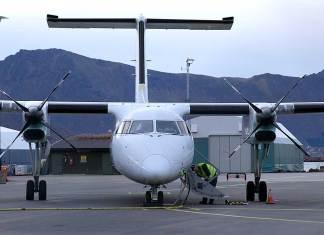 stokmarknes lufthavn skagen widerøe avinor samferdsel luftfart