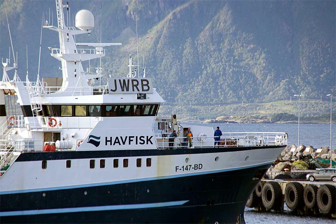 havfisk kongsfjord tråler fiskeri