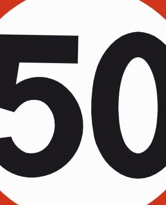 statens vegvesen skilt forbudsskilt 50 fartsskilt