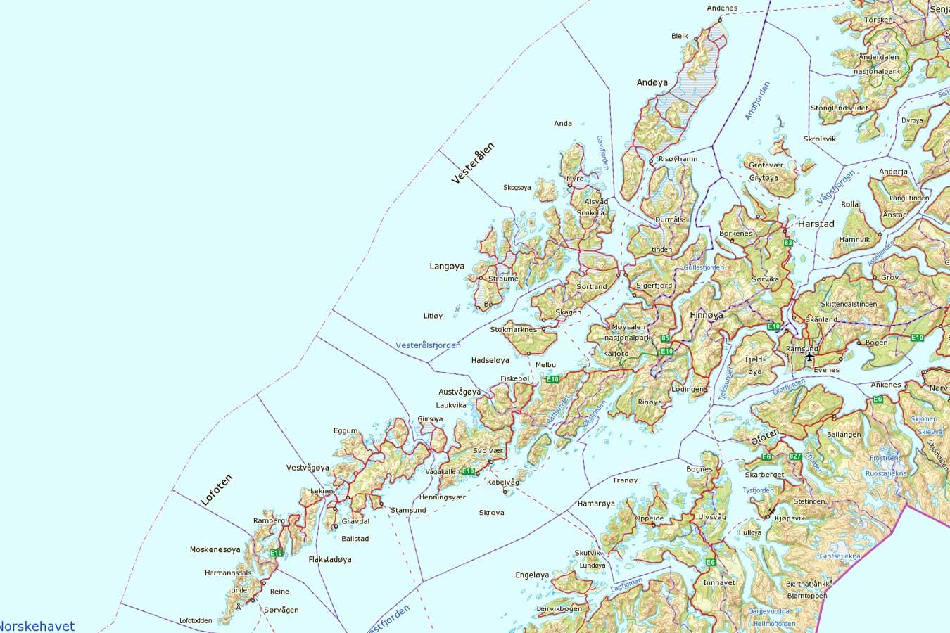 lofoten og vesterålen kart Disse gikk konkurs i Lofoten og Vesterålen | LoVe24.no lofoten og vesterålen kart