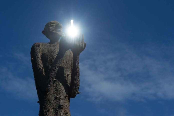 skulpturlandskap nordland mannen fra havet
