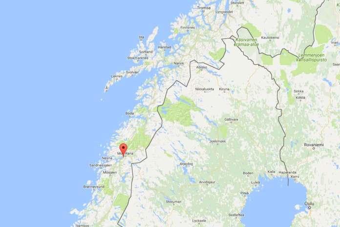Ranfjorden Google Maps