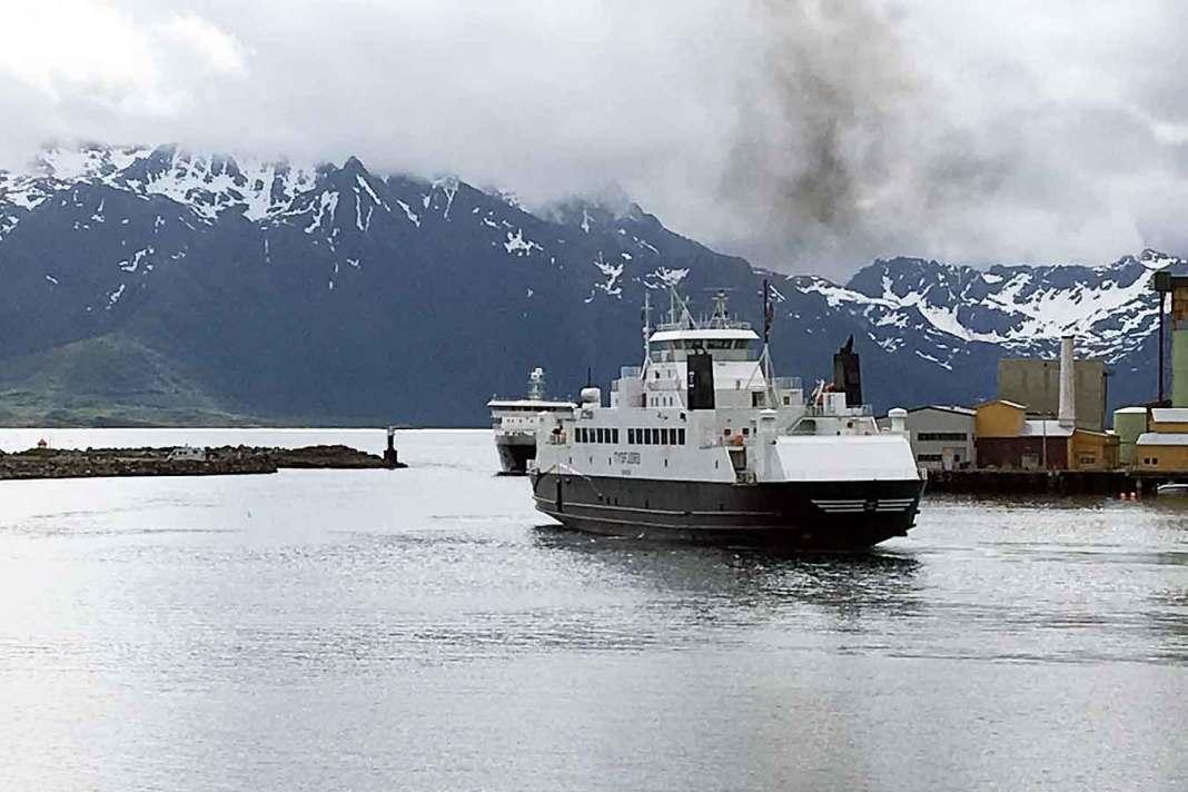 ferga tysfjord polfoss kollisjonskurs