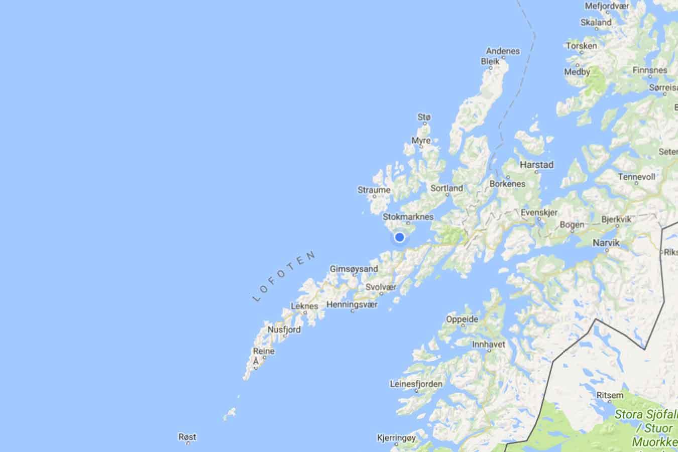 lofoten vesterålen kart Kraftig sentralisering internt i Lofoten og Vesterålen | LoVe24.no lofoten vesterålen kart