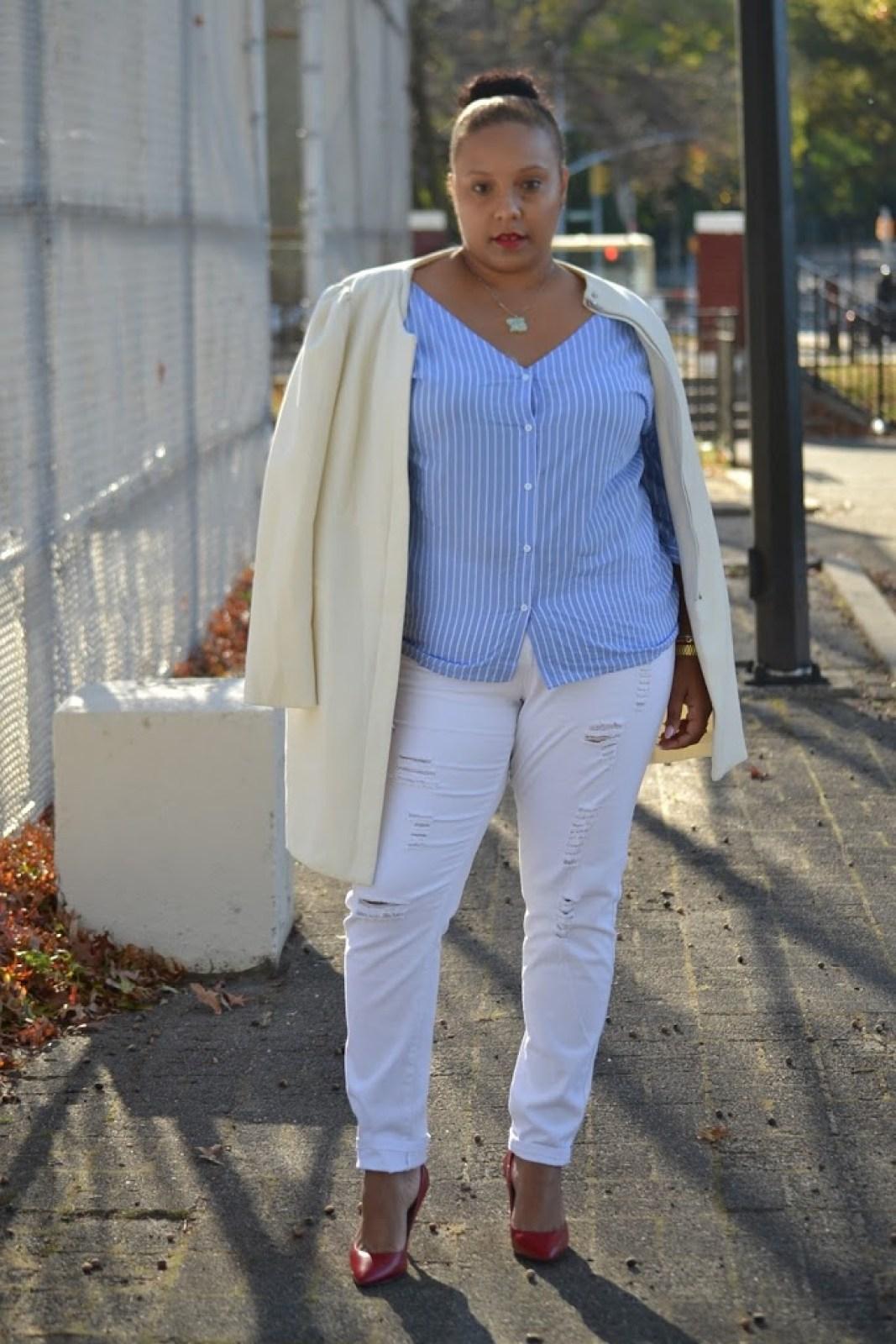 White outfit Fashion Nova