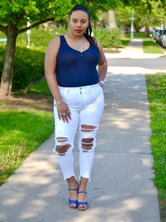 White Jeans for the summer
