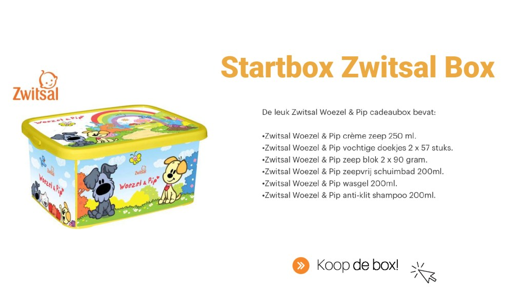 De Startbox Zwitsal Box