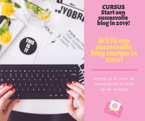 start een succesvolle blog