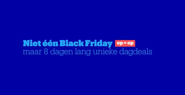 Black Friday Dagdeals Bol.com