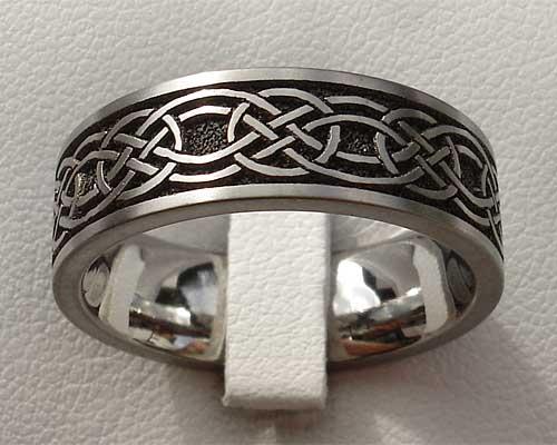Scottish Celtic Wedding Ring For Men Or Women ONLINE In