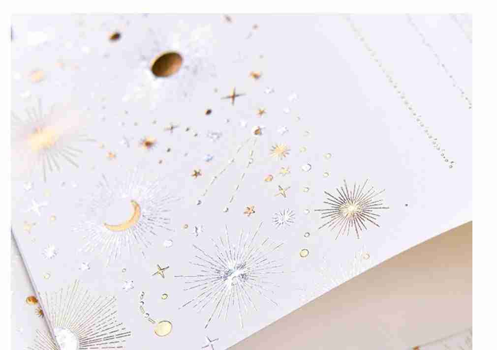 Starry Envelope with Paper Set