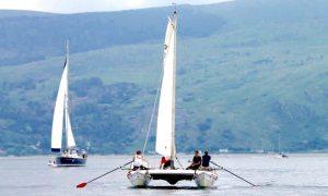 Sail the Three Peaks