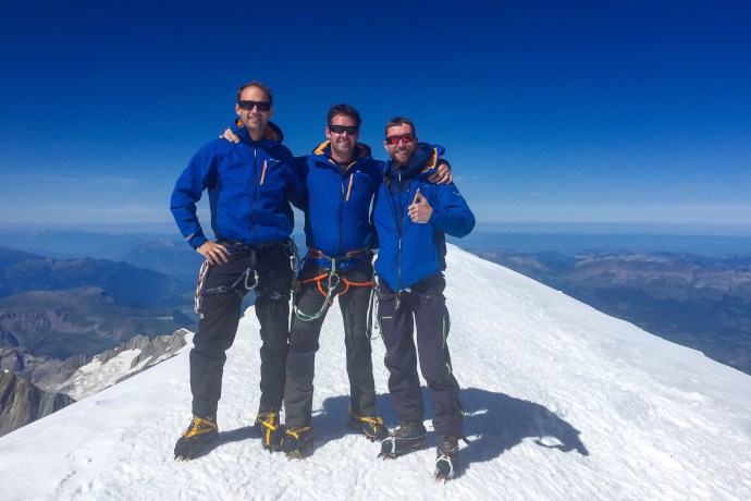 MtBlanc17 Summit Photo