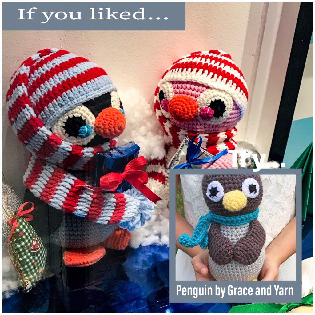 Penguin by Grace and Yarn
