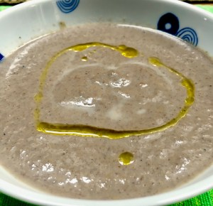 Mushroom Soup With Truffle Oil Love And Cook