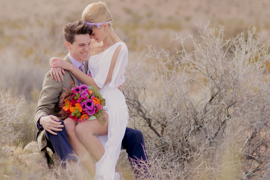 Red Rock Canyon Styled Shoot