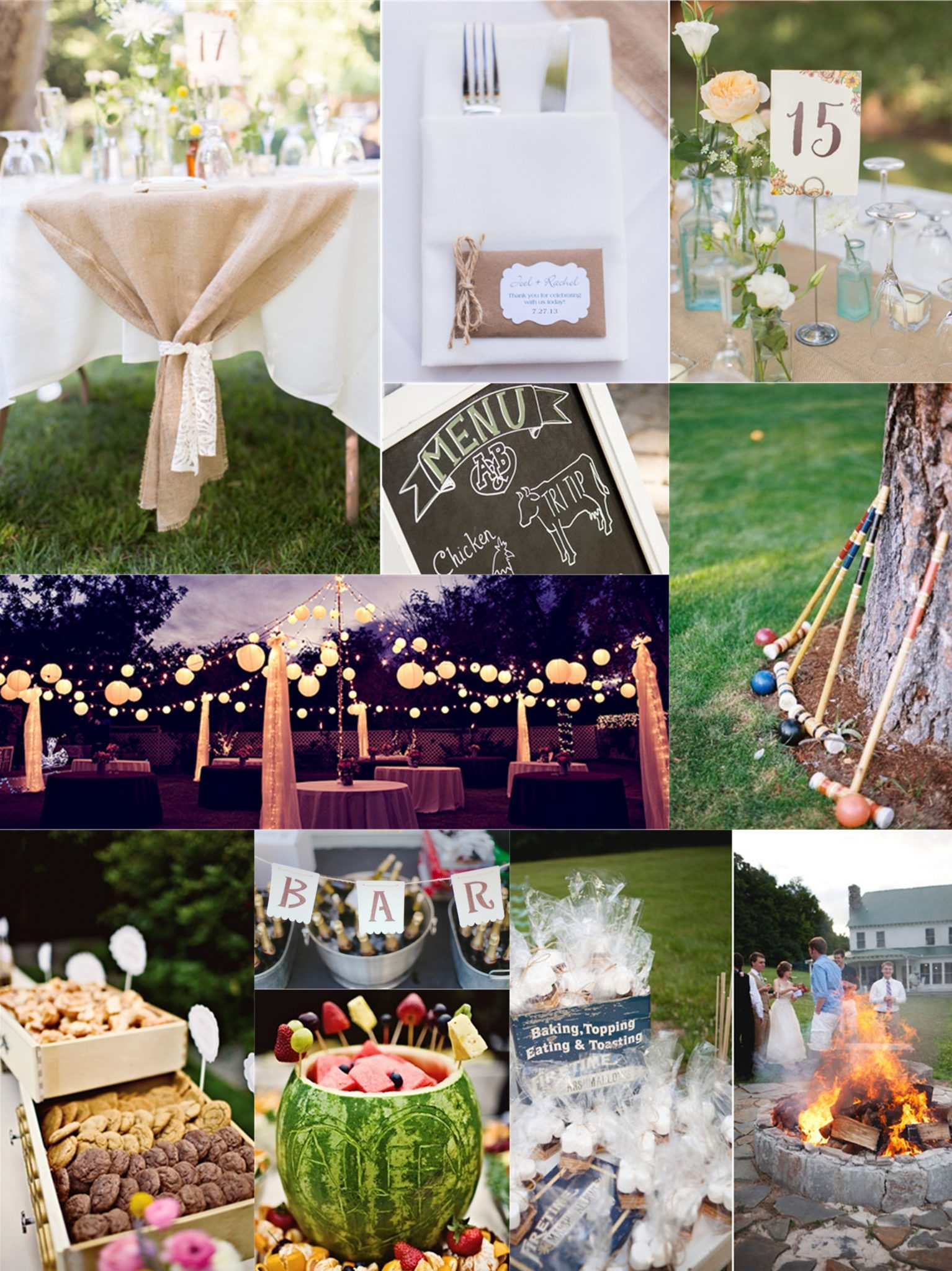 Essential Guide to a Backyard Wedding on a Budget on Small Backyard Patio Ideas On A Budget id=39172