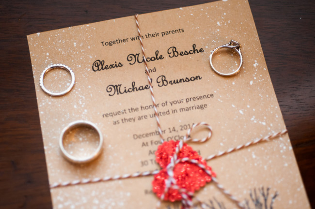 Christmas Wedding Invitations With An Remarkable Design For Those Of You Who Are Confused In Determining The Invitation Cards 5
