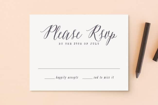 Wedding Rsvp Etiquette 9 Tips All