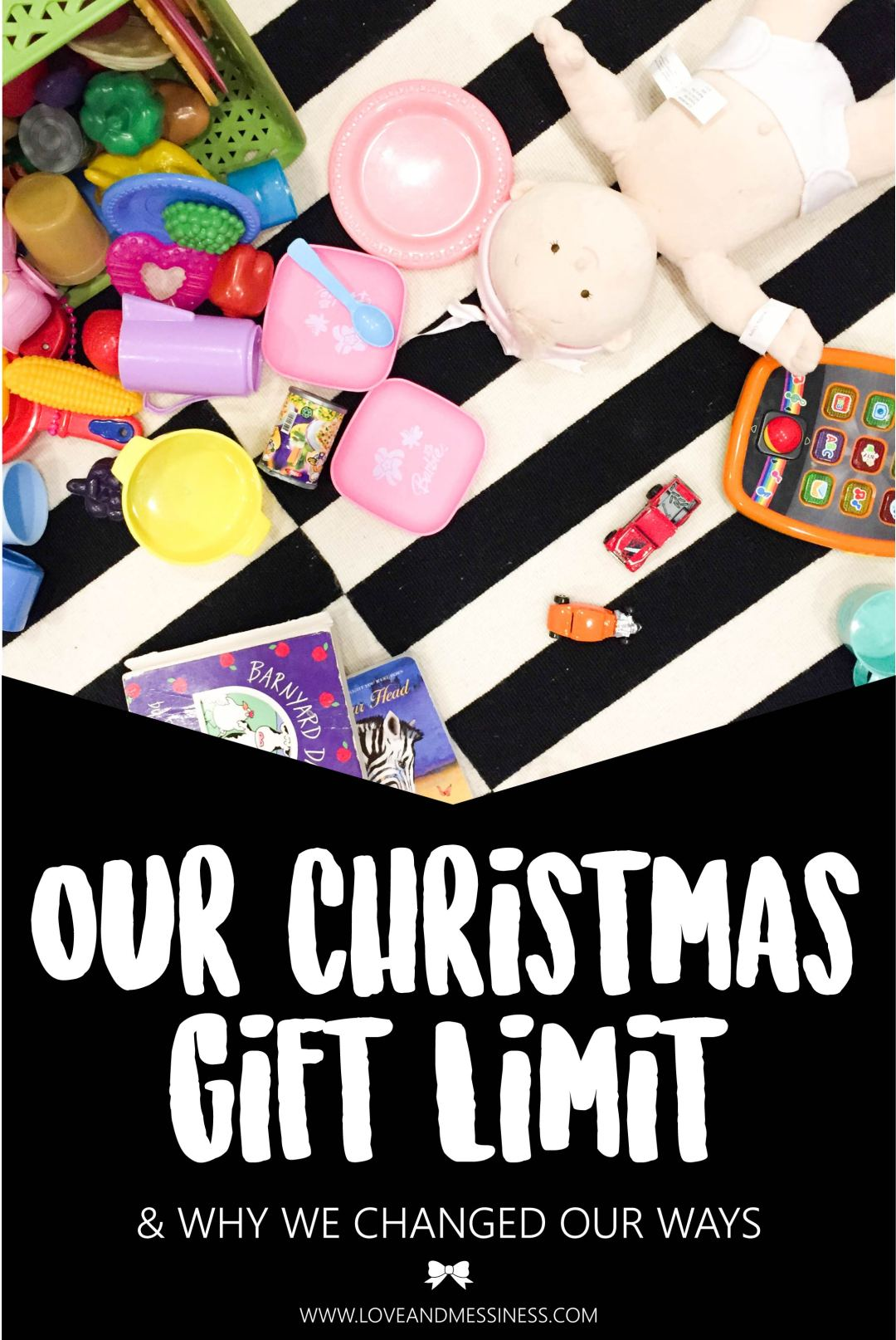 Our Christmas Gift Limit & Why We Changed Our Ways | LoveAndMessiness.com