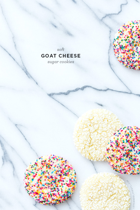 Goat Cheese Sugar Cookies