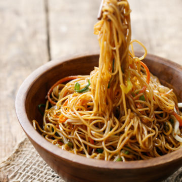 Soy Sauce Noodles | Love and Olive Oil