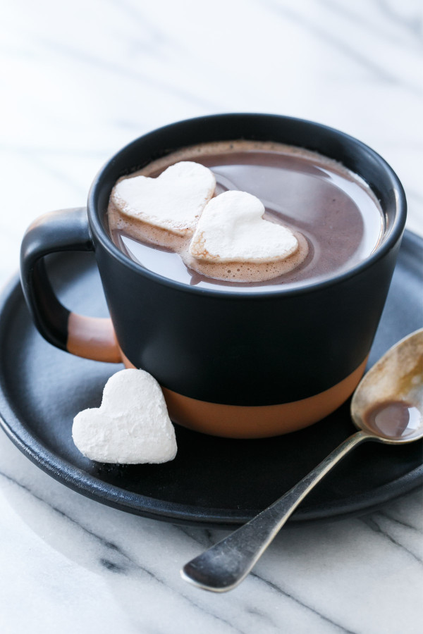 Salted Vanilla Hot Chocolate Love And Olive Oil