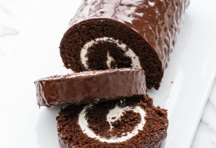 Giant Swiss Cake Roll Love And Olive Oil