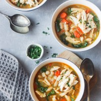 Instant Pot Chicken Quinoa Veggie Soup