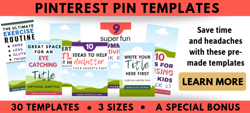 Pinterest Templates Bundle Editable in Canva