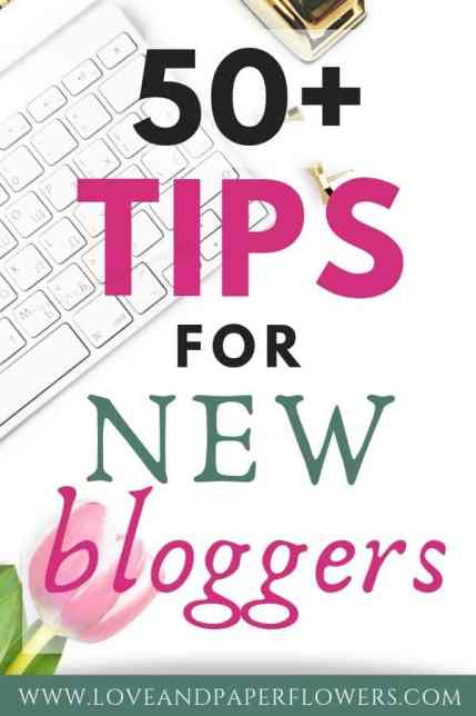New Blogger tips and advice