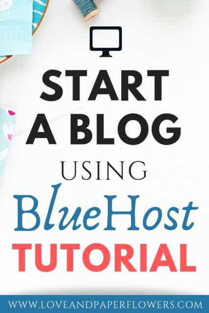 """Starting a blog can be really overwhelming. That is the reason I put together this """"How to Start a Blog Tutorial"""" using BlueHost. Following this how to start a blog step-by-step guide you can start a blog in as little as 10 minutes and learn all the ways you can make money blogging. #startablog #howtoblog #howtostartablog #blogging101 #workfromhome"""