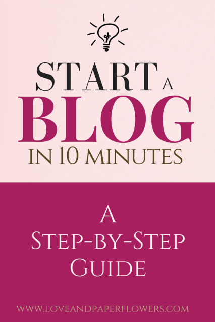 If you are looking to start a blog but have no idea where to begin, I've put together a step-by-step tutorial on