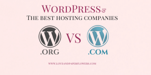 WordPress.com vs WordPress.org, Plus the best hosting providers for Bloggers