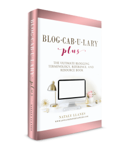Blogcabulary Plus: The Ultimate Blogging Terminology, Reference, and Resource Book