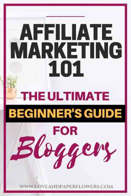 Affiliate marketing is one of the best ways to make money blogging. In this affiliate marketing 101 crash course article we will break down all the aspects of affiliate marketing for beginners and how you can make money blogging.