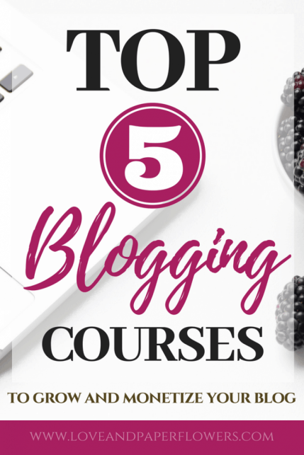 Just like any other professional venture, learning is imperative to start and run a successful blog. Here are the best blogging courses to help monetize and grow your blog.#bloggingcourses #coursesforbloggers #bestcoursesforbloggers #bestbloggingcourses #bloggingresources #bestbloggingresources