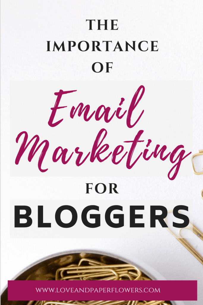 Learn and understand the importance of email marketing for bloggers. Here is an email marketing guide you can follow to get you going with affiliate marketing for beginners. #emailmarketing #emailmarketing101 #emailmarketingforbloggers #emailmarketingforbeginners